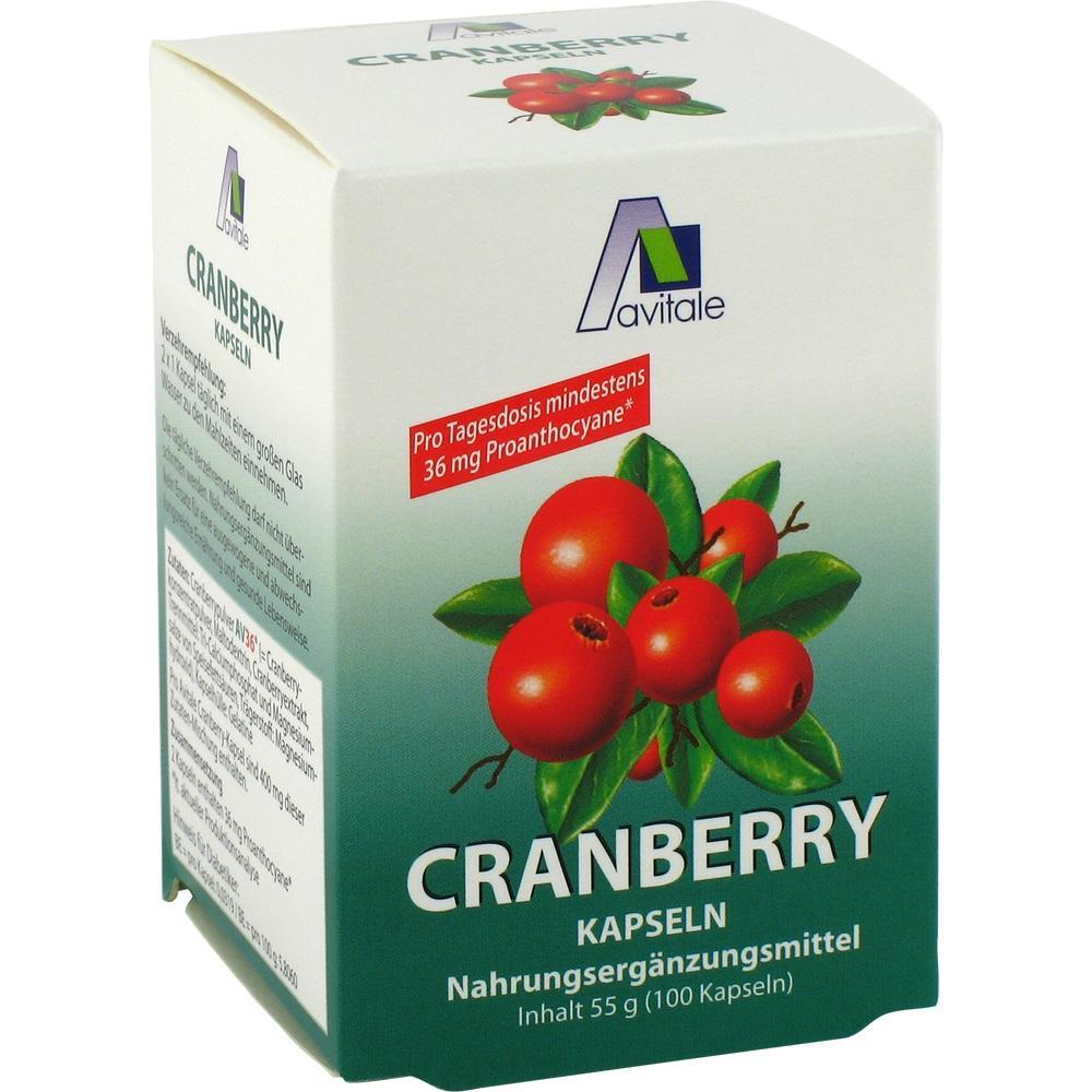 00751798, Cranberry Kapseln hochdosiert 400mg, 100 ST
