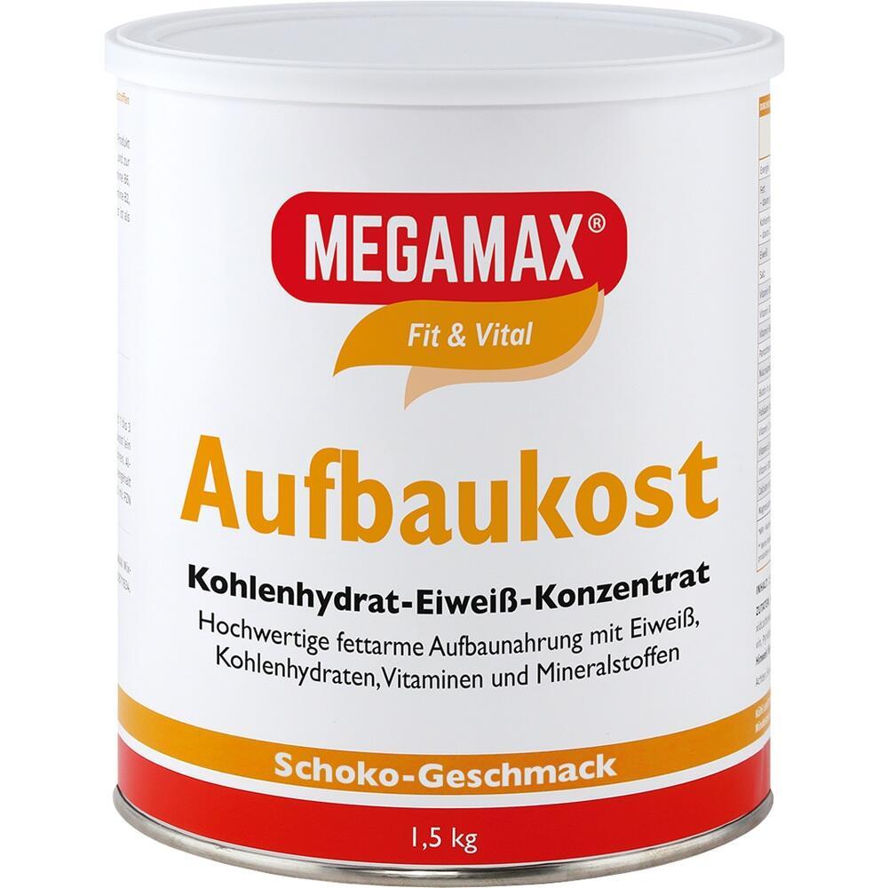 00815564, MEGAMAX Aufbaukost Schoko, 1.5 KG
