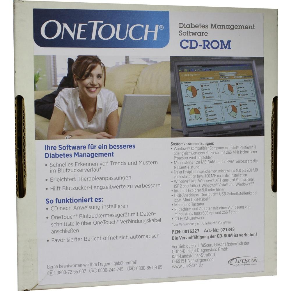 ONE TOUCH Diabetes Management Software CD