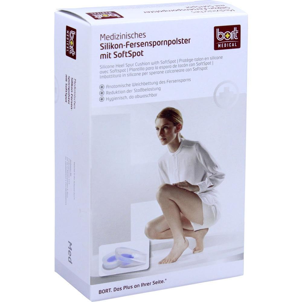 BORT Silikon Fersenspornpolster m.SoftSpot small
