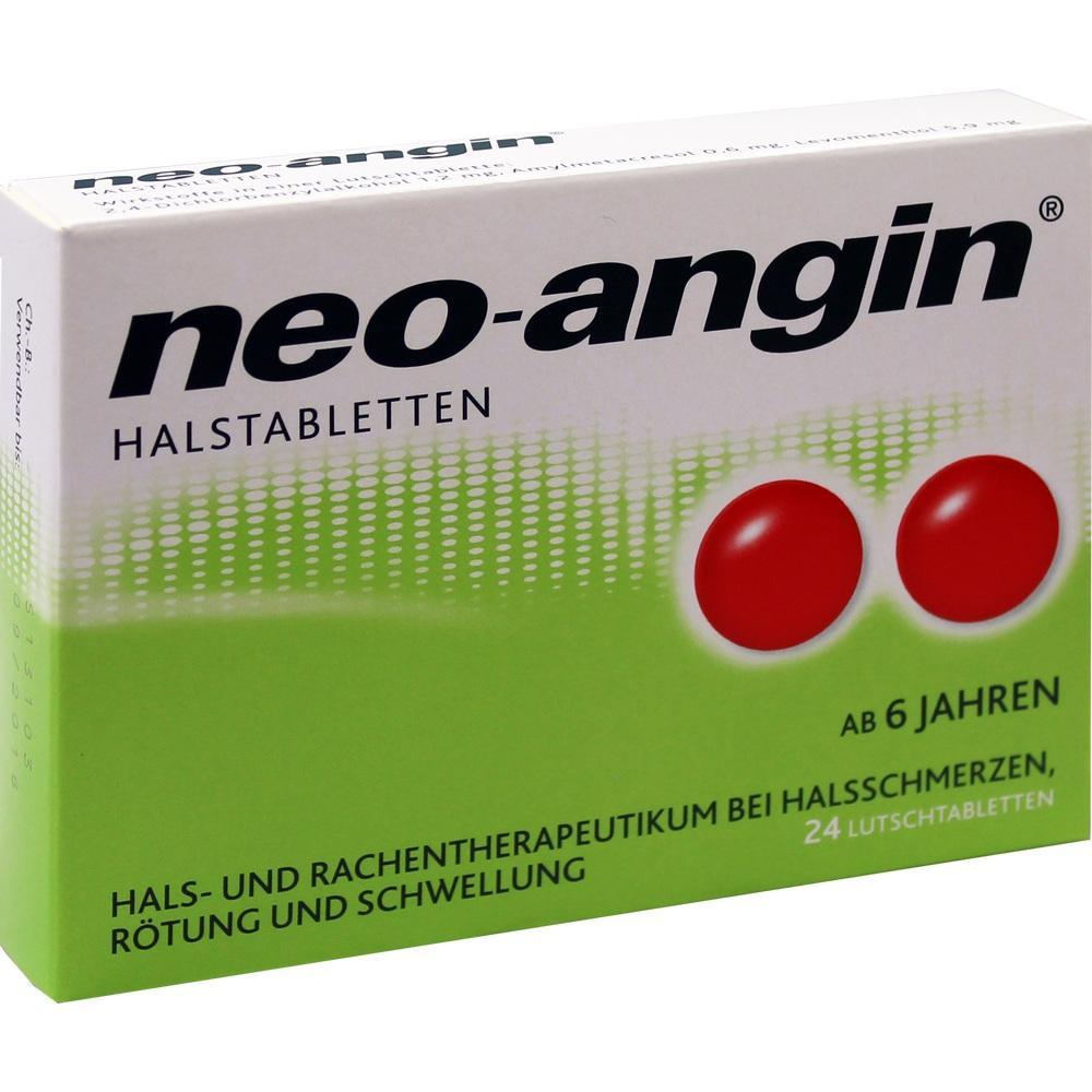 00826562, neo-angin Halstabletten, 24 ST
