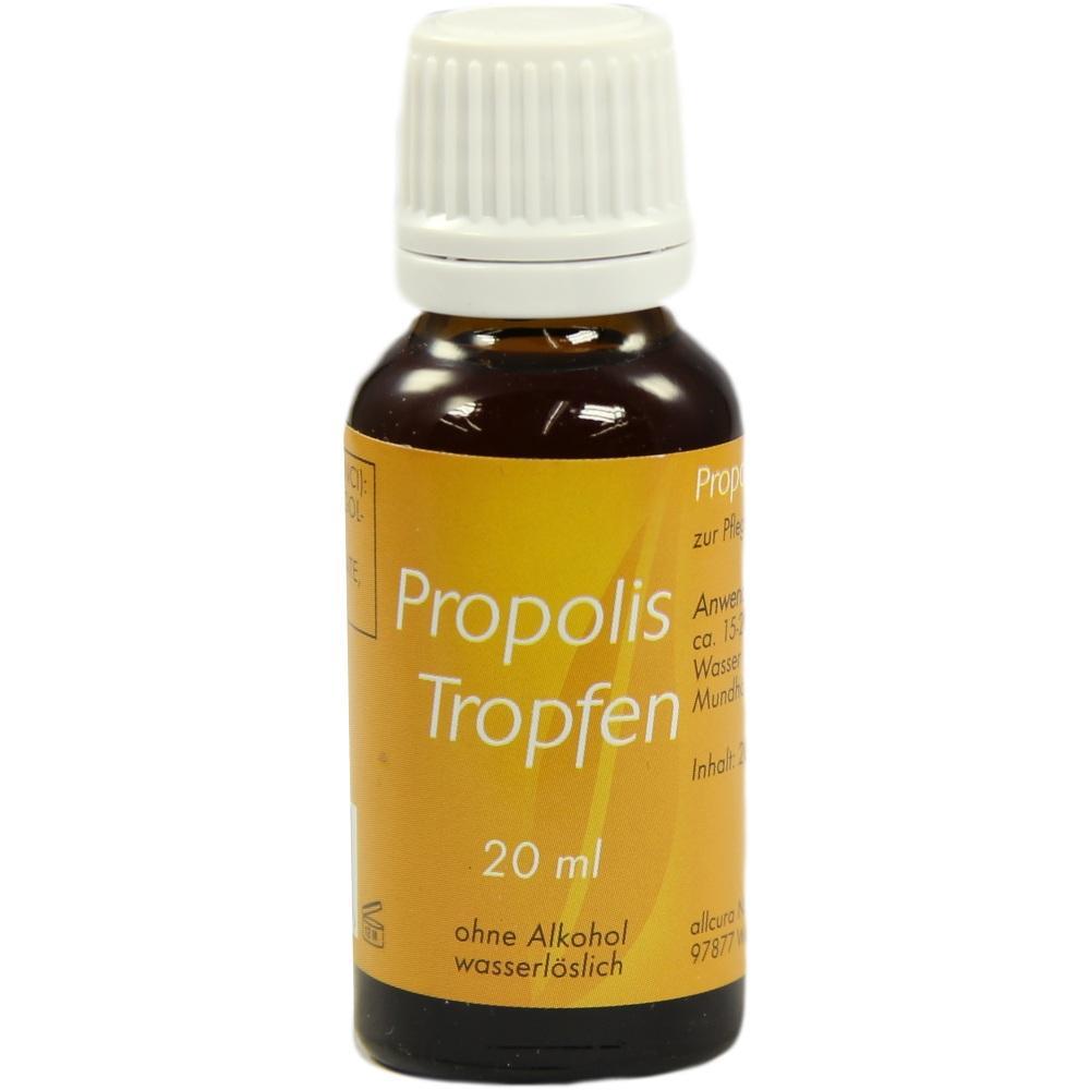 00831379, Propolis Tropfen 20ml ohne Alkohol, 20 ML