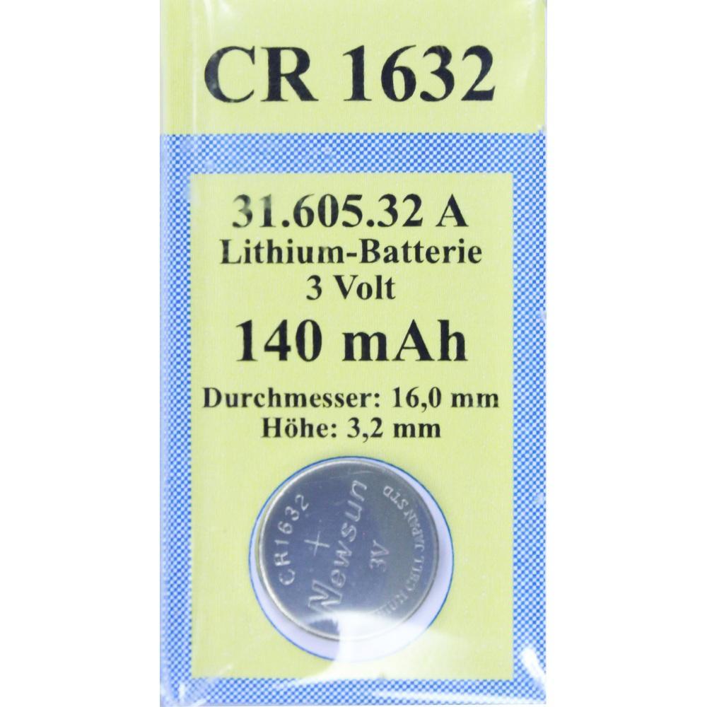BATTERIEN Lithium 3V CR 1632