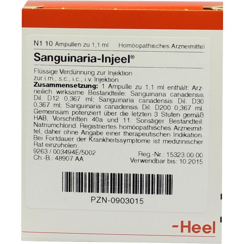 SANGUINARIA INJEEL Ampullen
