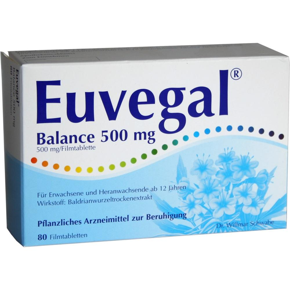00930667, Euvegal Balance 500mg, 80 ST