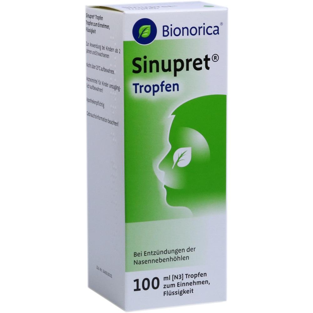 00939786, Sinupret Tropfen, 100 ML