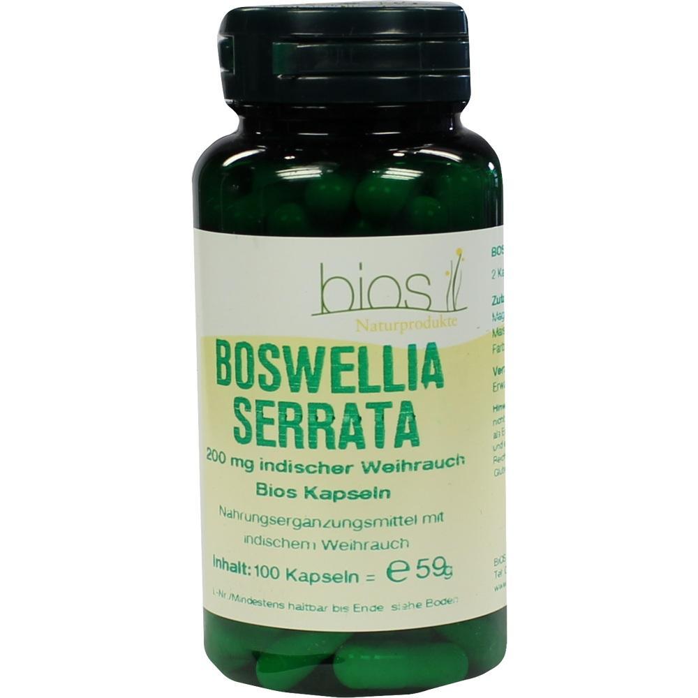 BOSWELLIA SERRATA 200 mg ind.Weihr.Bios Kapseln