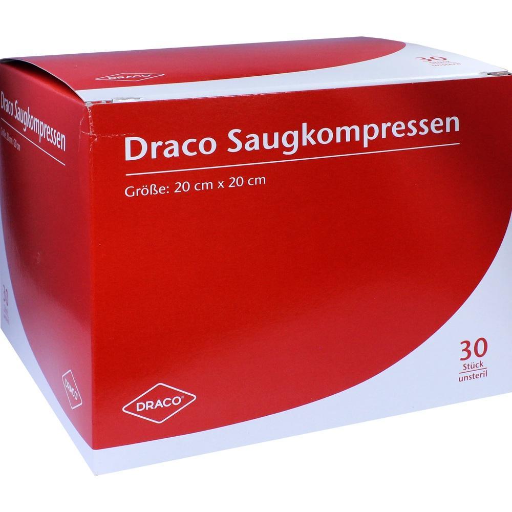 00948791, Saugkompressen unsteril 20x20cm Draco, 30 ST
