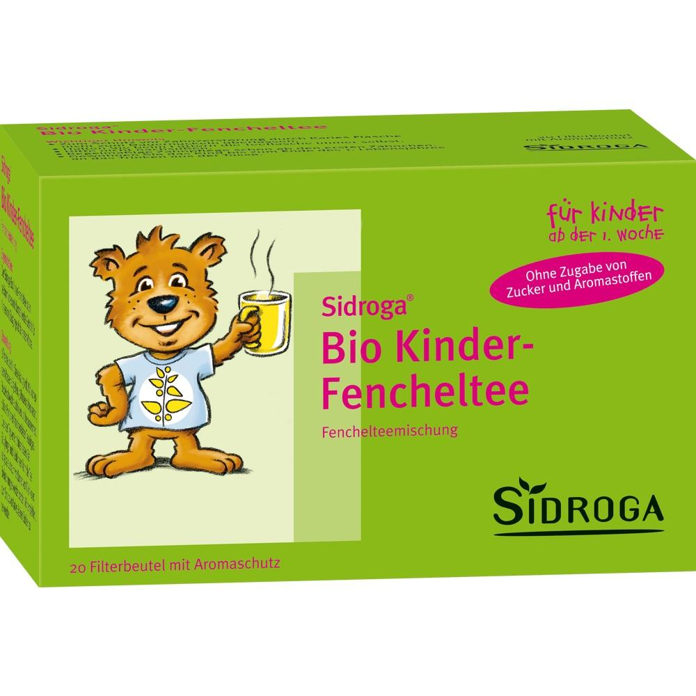 00953935, Sidroga Bio Kinder-Fencheltee, 20X2.0 G