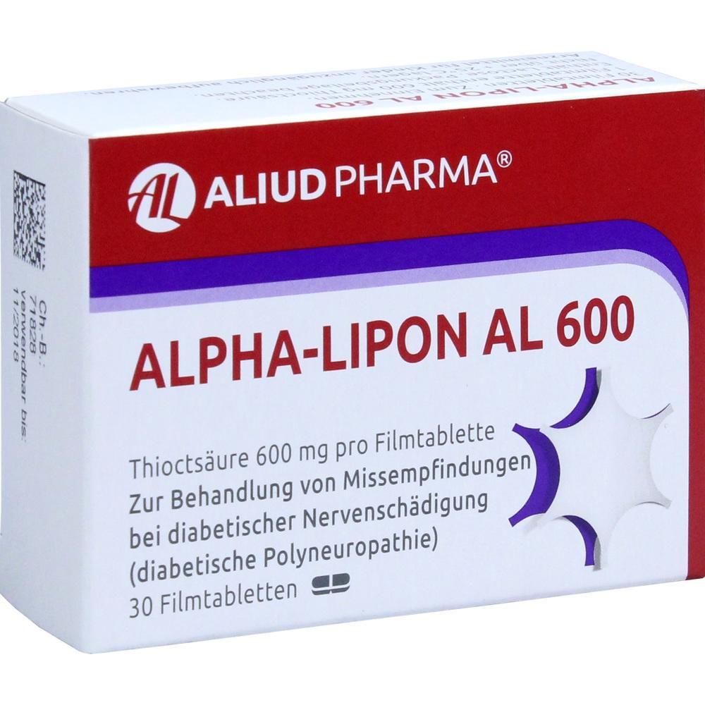 00958387, Alpha-Lipon AL 600, 30 ST