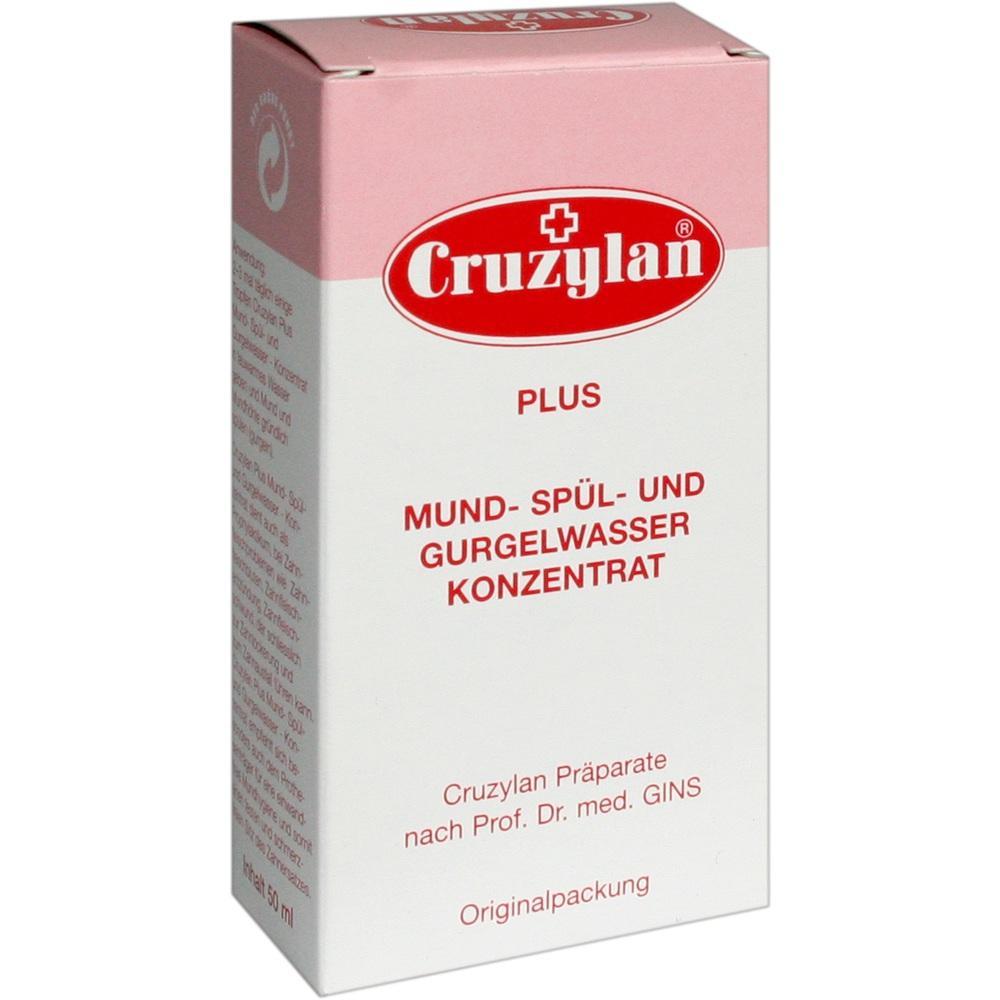00988655, Cruzylan Plus Mund- Spül u. Grugelwasserkonzentrat, 50 ML