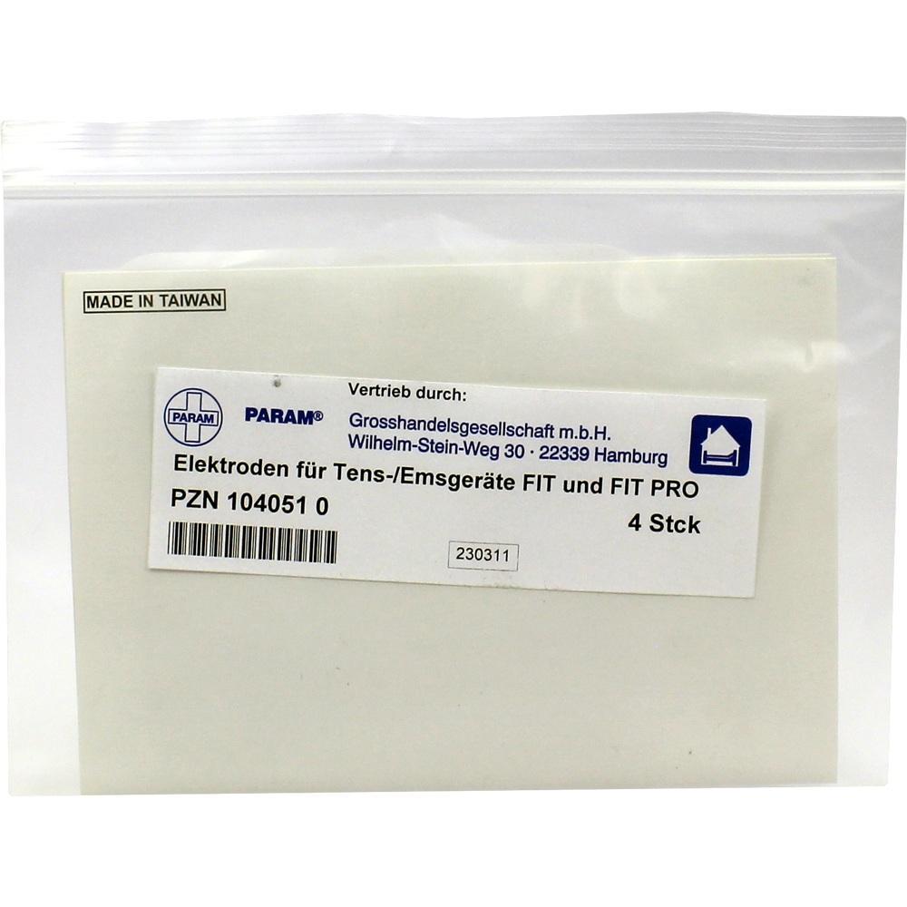 TENS/EMS-Elektroden 4x4 cm Digit.Fit u.Fit Pro