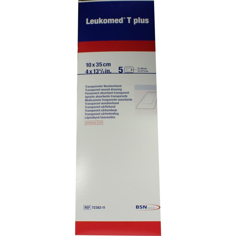 LEUKOMED transp.plus sterile Pflaster 10x35 cm