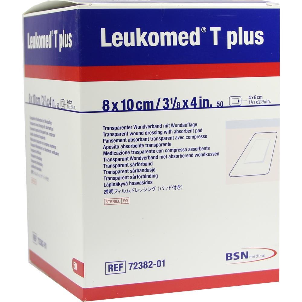 LEUKOMED transp.plus sterile Pflaster 8x10 cm