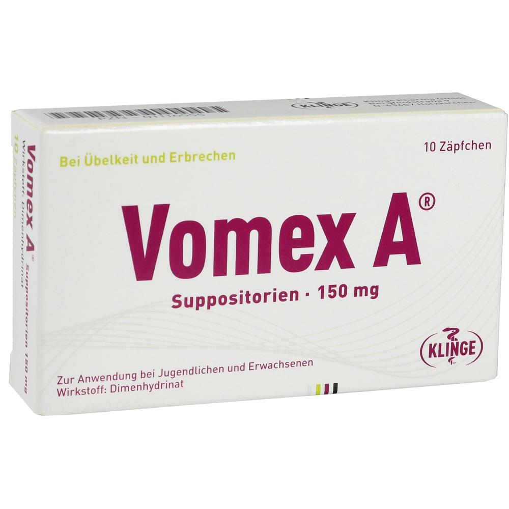 01116555, VOMEX A 150MG, 10 ST