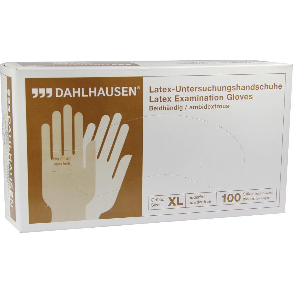 P. J. Dahlhausen & Co. GmbH HANDSCHUHE Latex ungepudert Gr.XL 01116762
