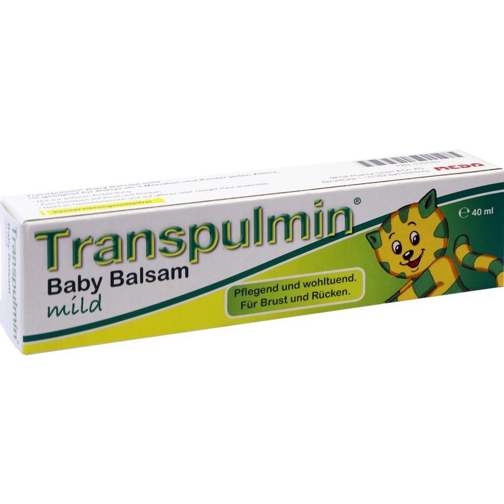 01167593, TRANSPULMIN Baby BALSAM mild, 40 ML