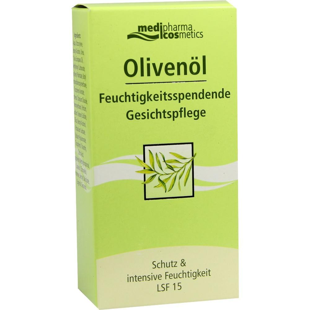01177663, Olivenöl Feuchtigkeitsspendende Gesichtspflege, 50 ML