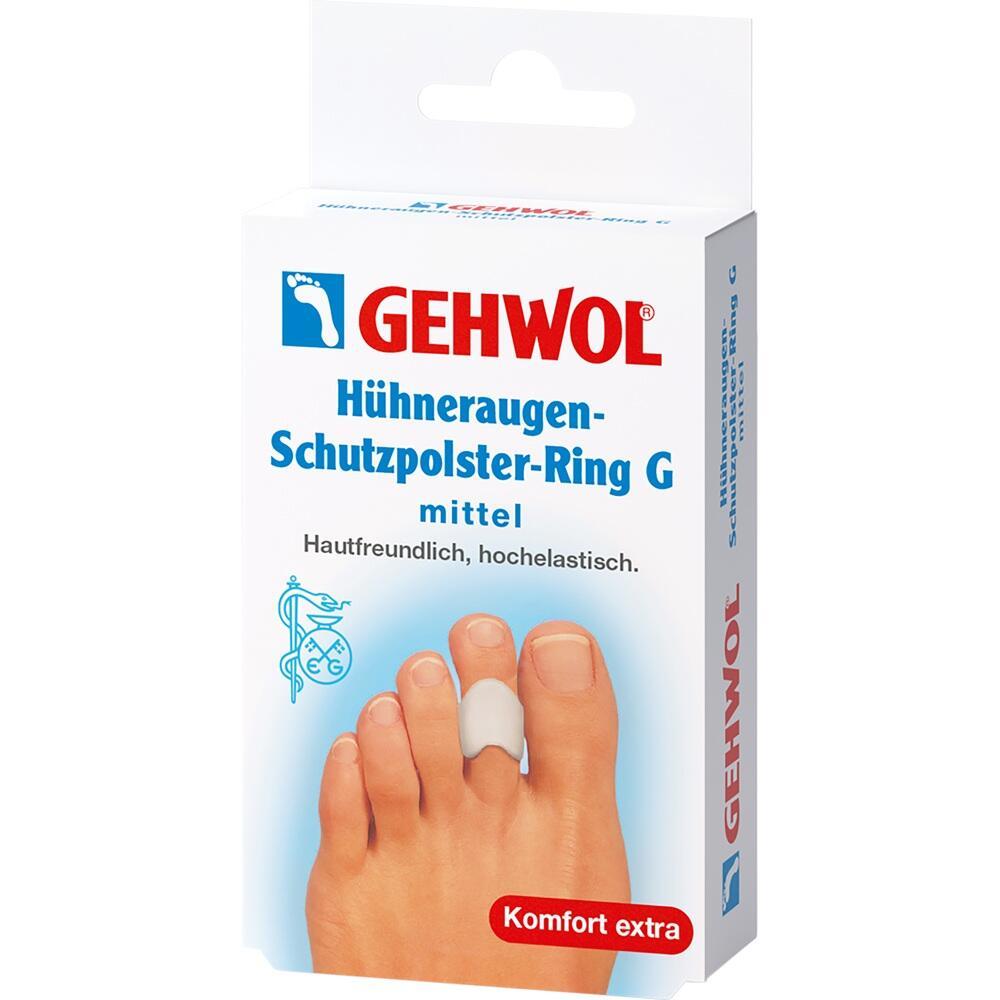 01209156, GEHWOL Hühneraugen-Schutzpolster-Ring G mittel, 3 ST