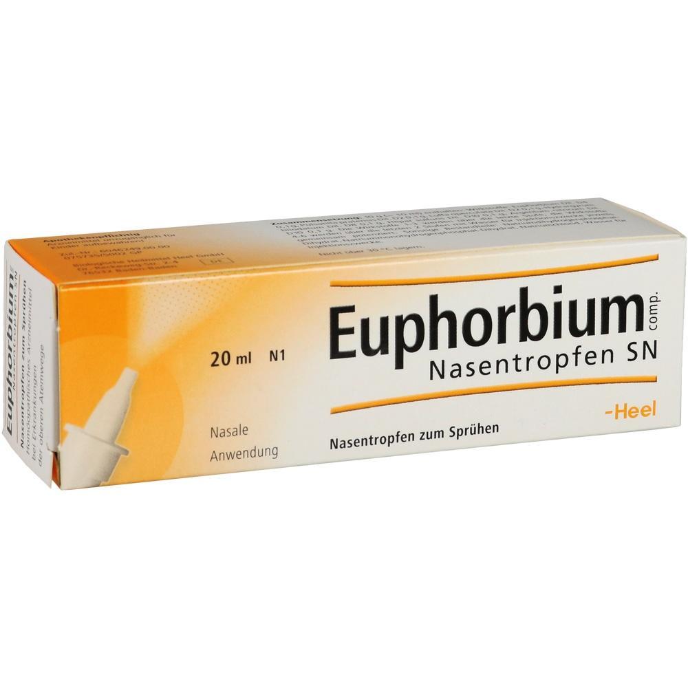 01230044, Euphorbium comp. Nasentropfen SN, 20 ML