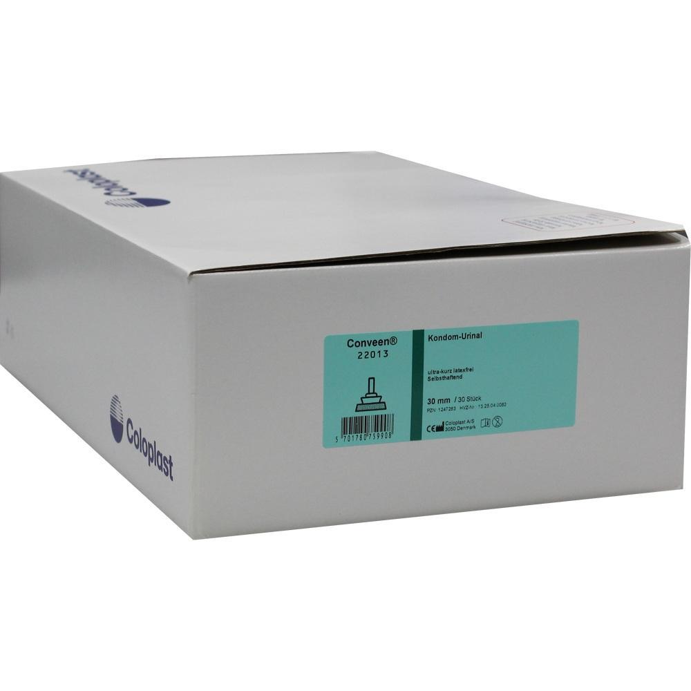 CONVEEN Kondom Urin.ultra kurz latexfr.30mm
