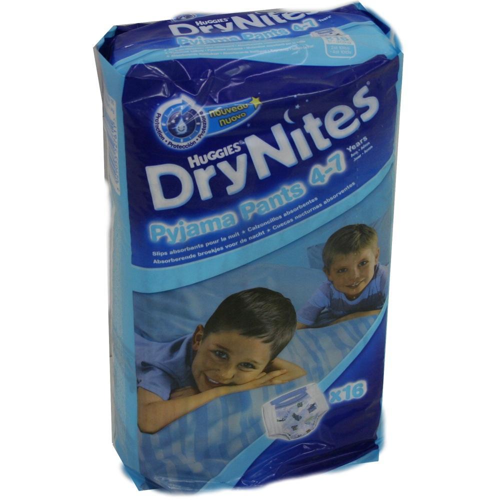 01248630, Huggies Dry Nites Mädchen 4-7Jahre, 16 ST