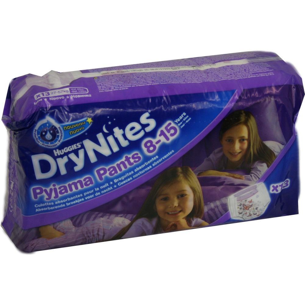 01248653, Huggies Dry Nites Mädchen 8-15Jahre, 13 ST