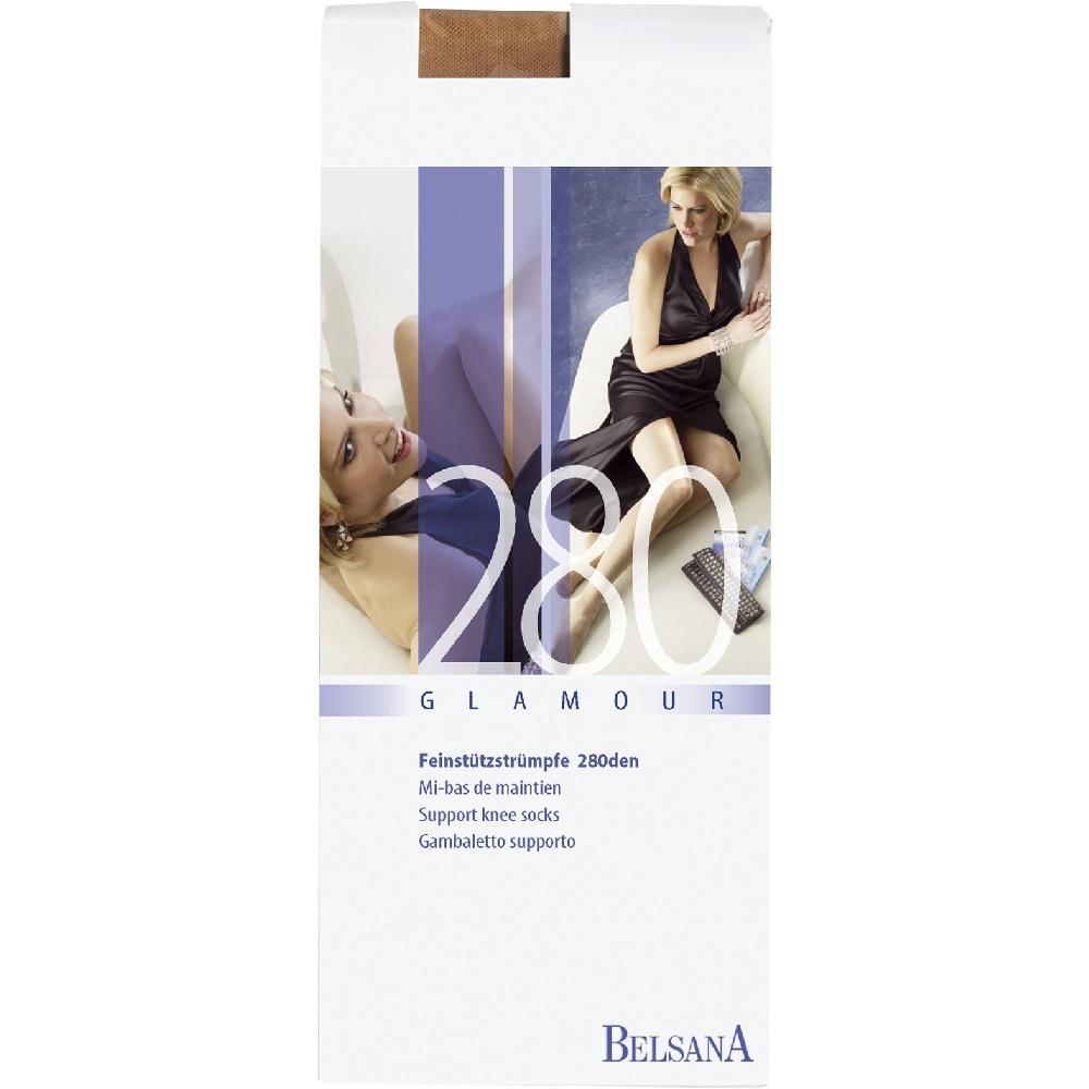 BELSANA glamour 280den AD kurz L champ.m.Sp.