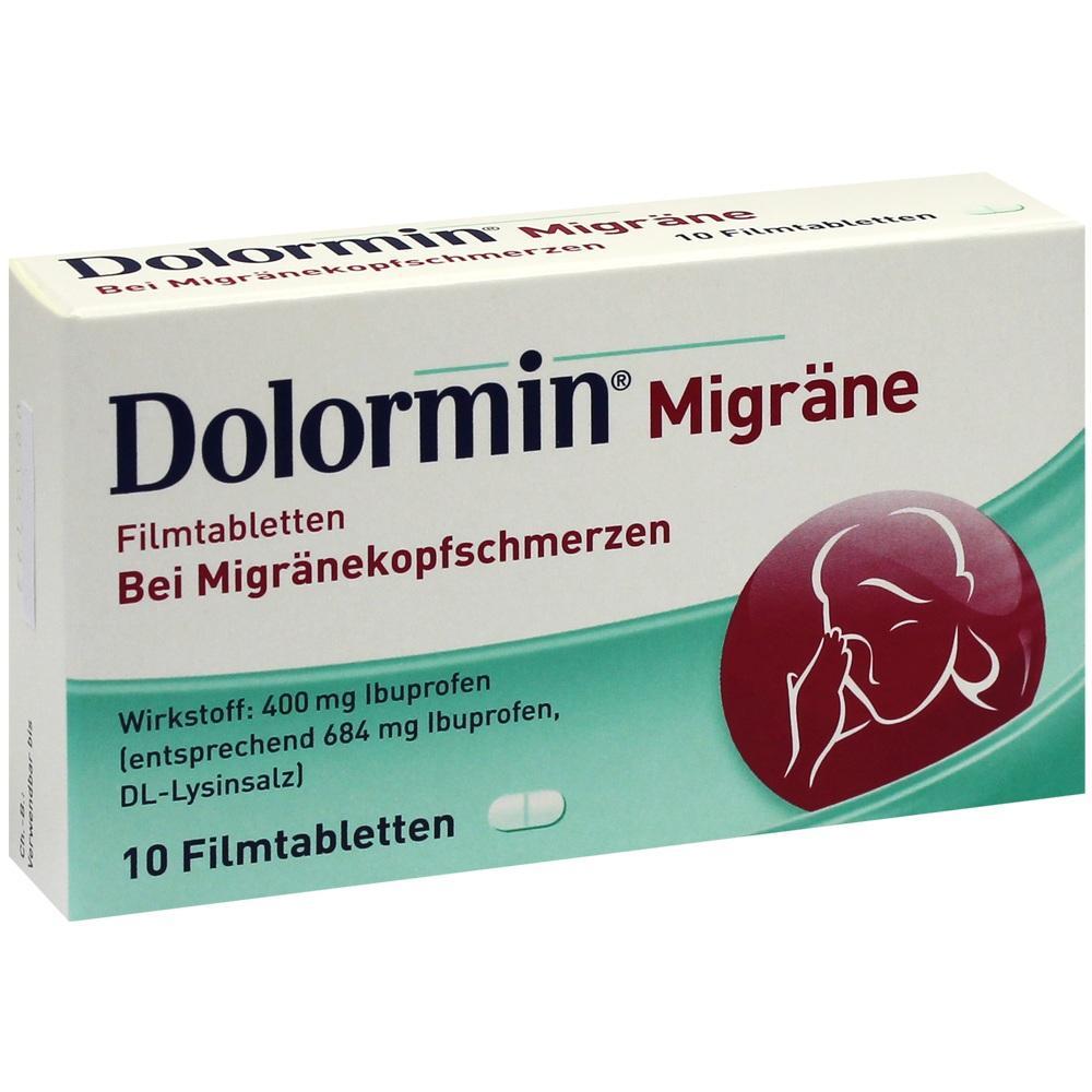 01300810, Dolormin Migräne, 10 ST