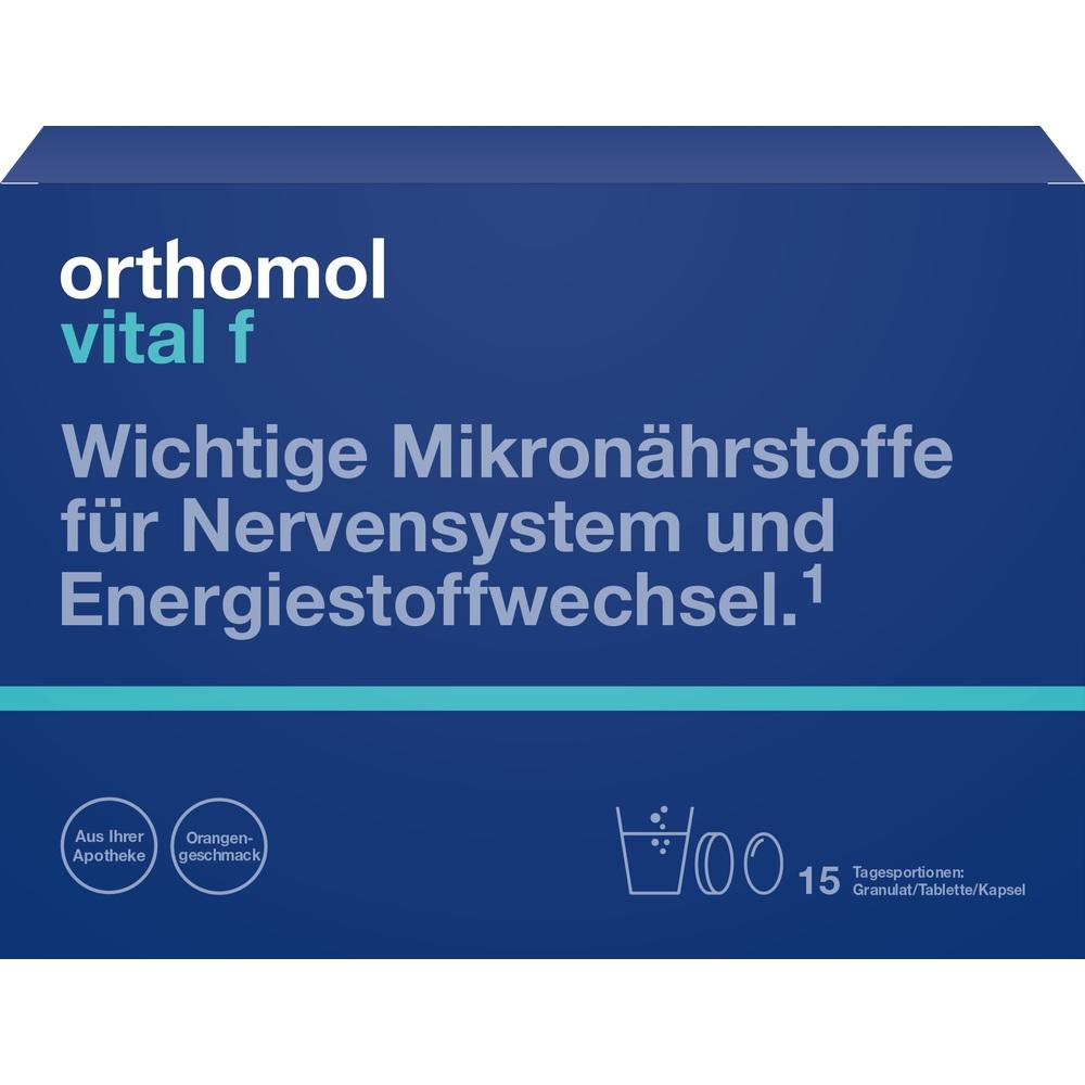 01319637, Orthomol Vital F Granulat/Kapseln 15Beutel, 1 ST