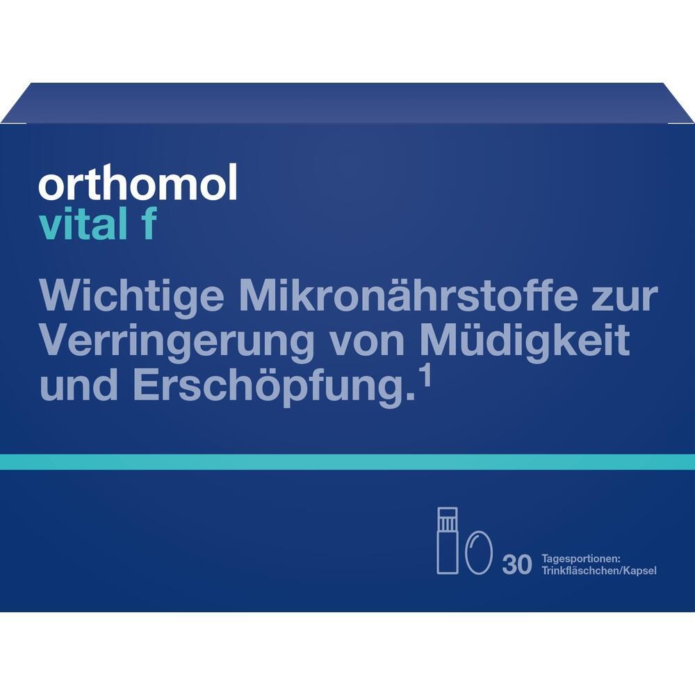 01319689, Orthomol Vital F Trinkfläschchen, 30 ST