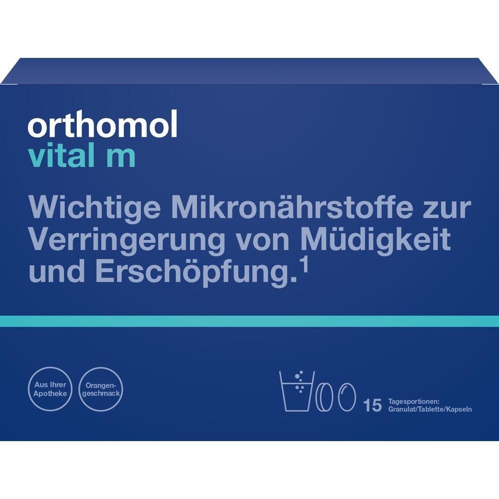01319784, Orthomol Vital M 15Granulat/Kapseln, 1 ST