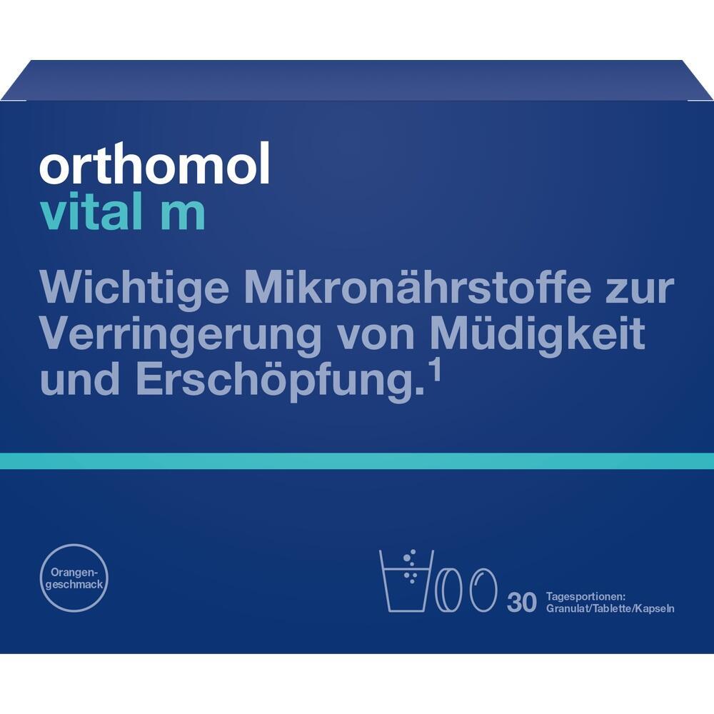 01319838, Orthomol Vital M 30Granulat/Kapseln, 1 ST