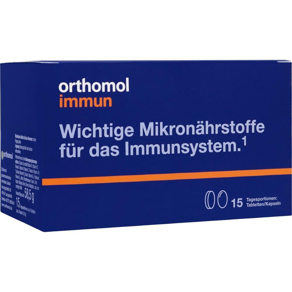01319927, Orthomol Immun Tabletten/Kapseln 15Beutel, 1 ST