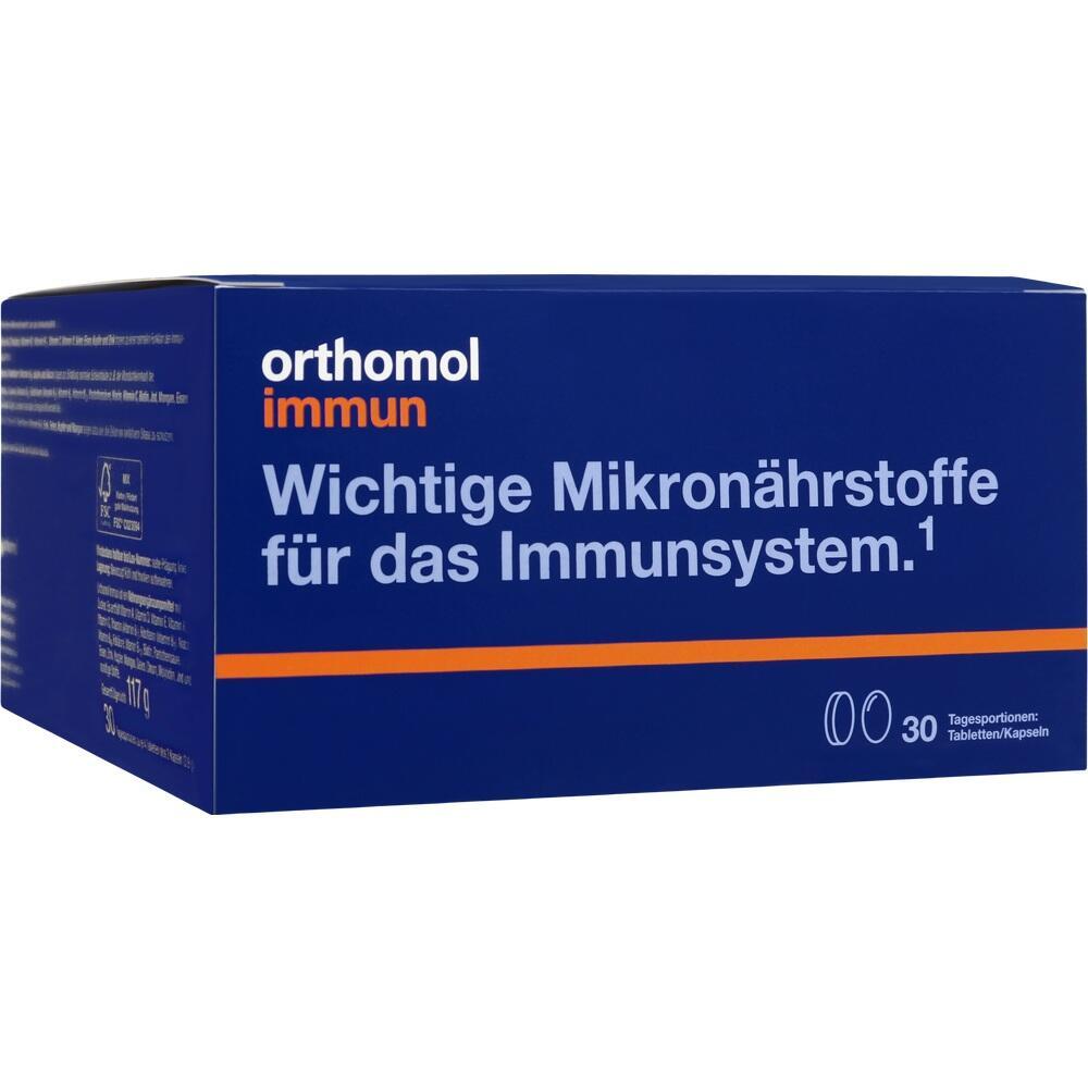 01319933, Orthomol Immun Tabletten/Kapseln 30Beutel, 1 ST