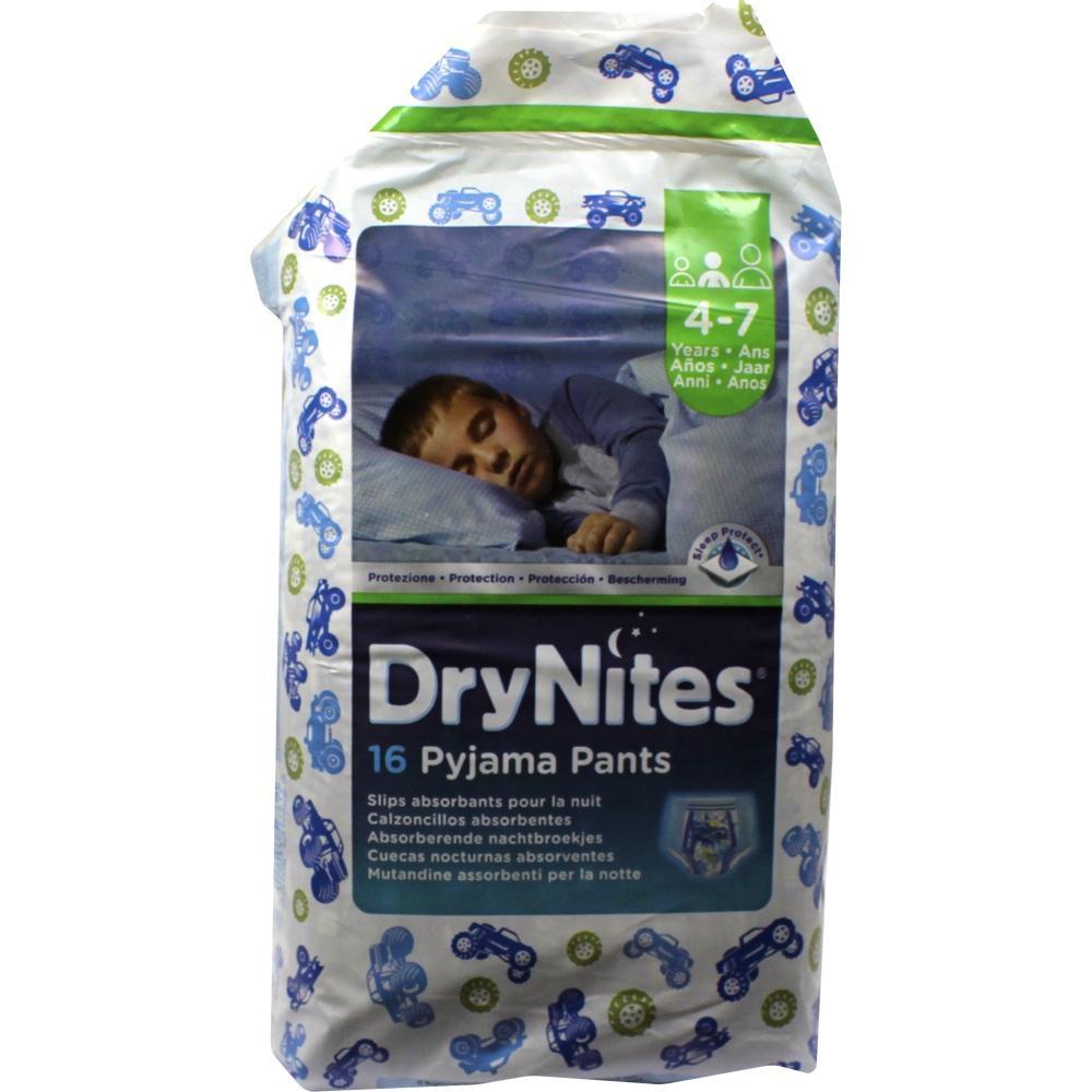 01333873, Huggies Dry Nites Jungen 4-7Jahre, 16 ST