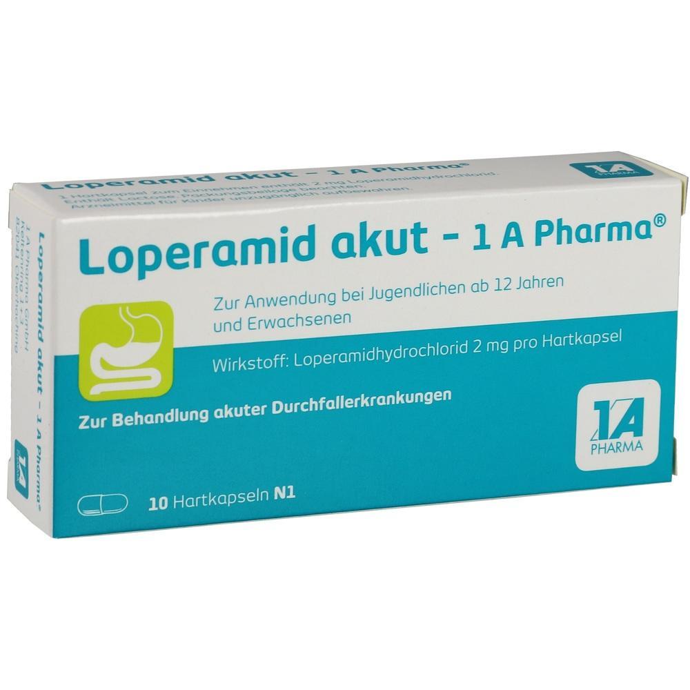 01338066, Loperamid akut-1A Pharma, 10 ST