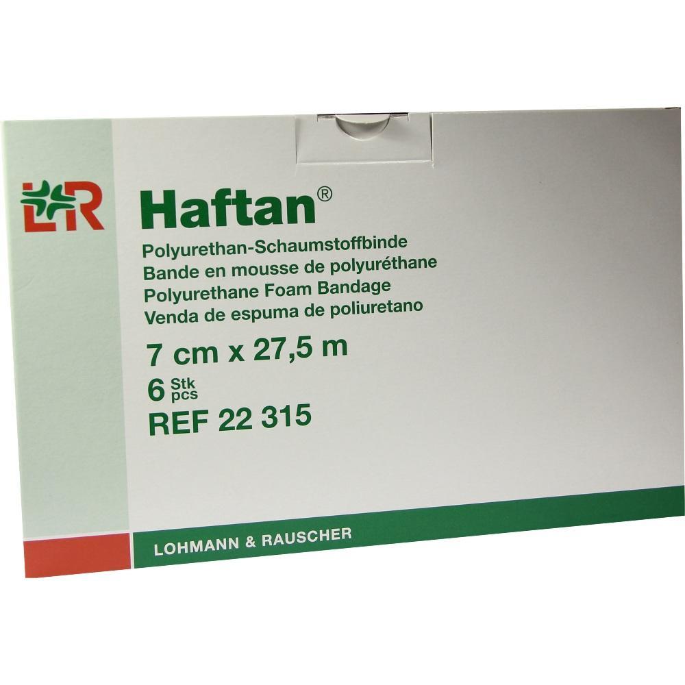 HAFTAN Schaumstoffbinde 7 cmx27,5 m