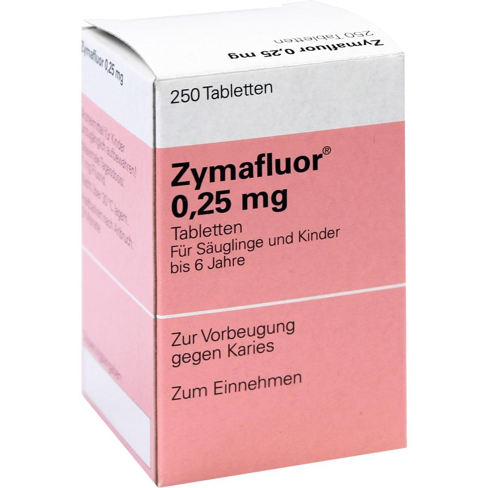 01379177, ZYMAFLUOR 0.25MG, 250 ST