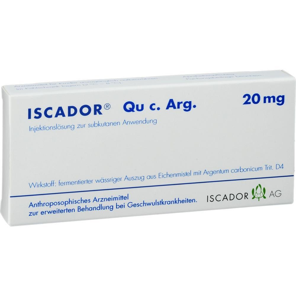 ISCADOR Qu c.Arg 20 mg Injektionslösung