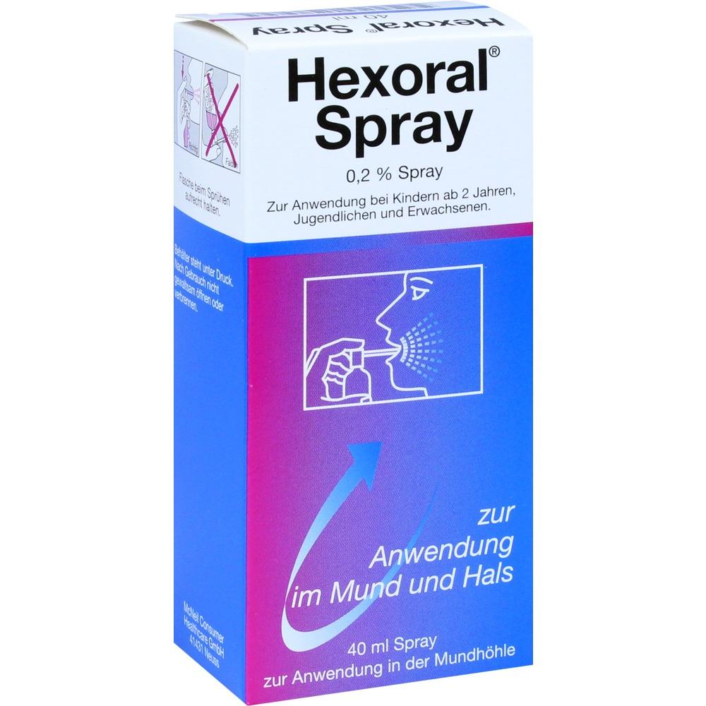 01409300, HEXORAL 0.2 % SPRAY, 40 ML