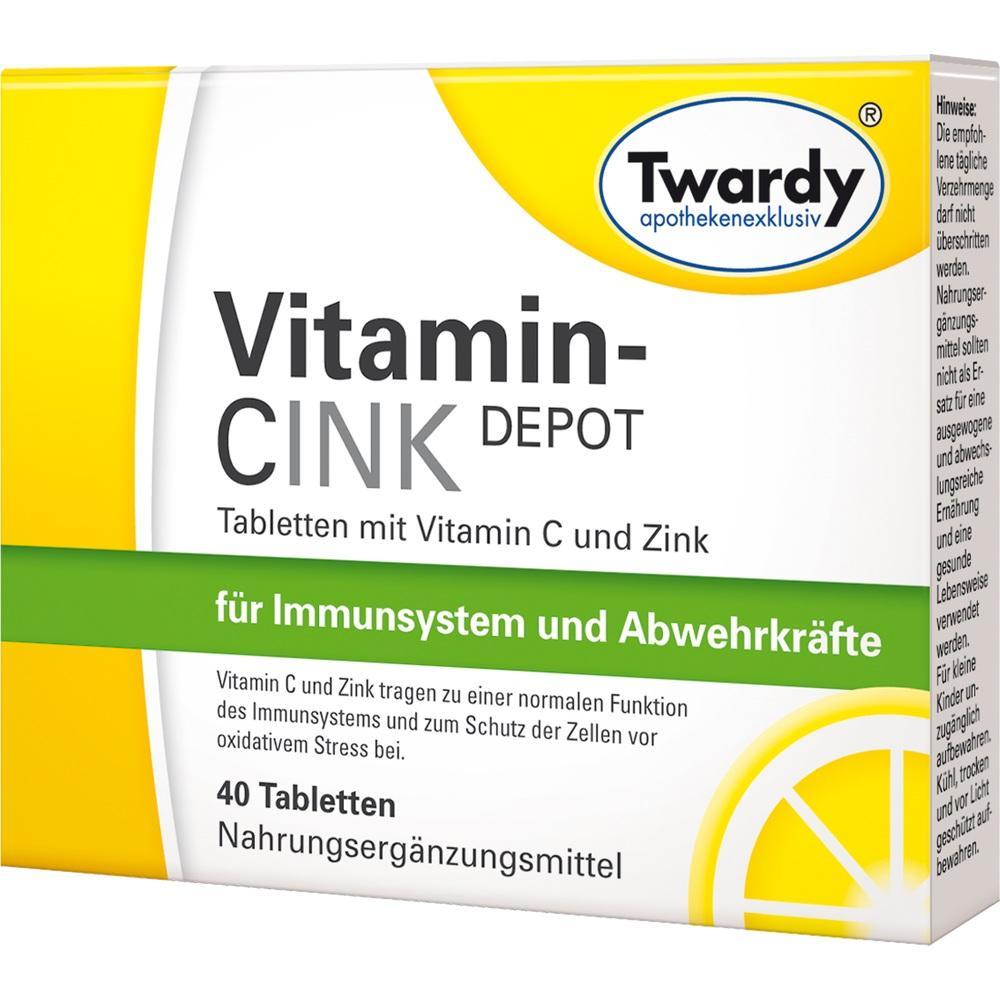 01439761, Vitamin-CINK Depot, 40 ST