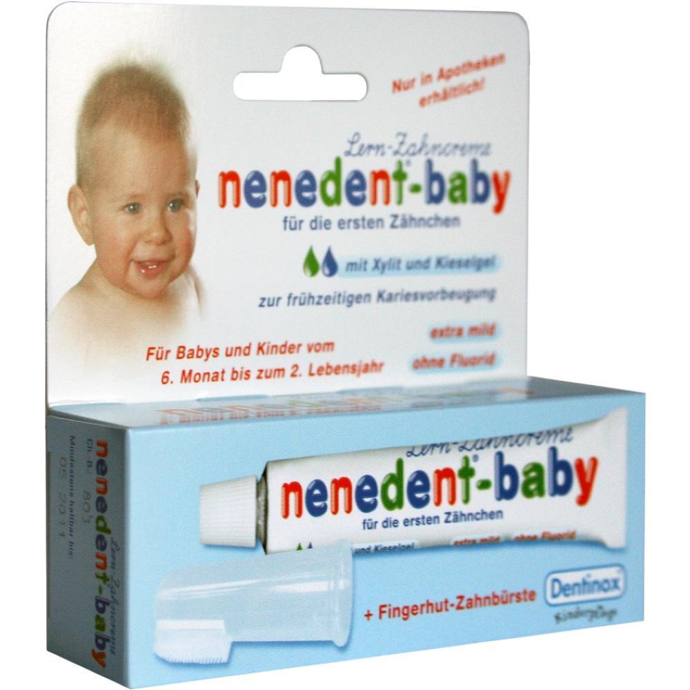01439821, nenedent-baby Zahnpflege-Set, 20 ML