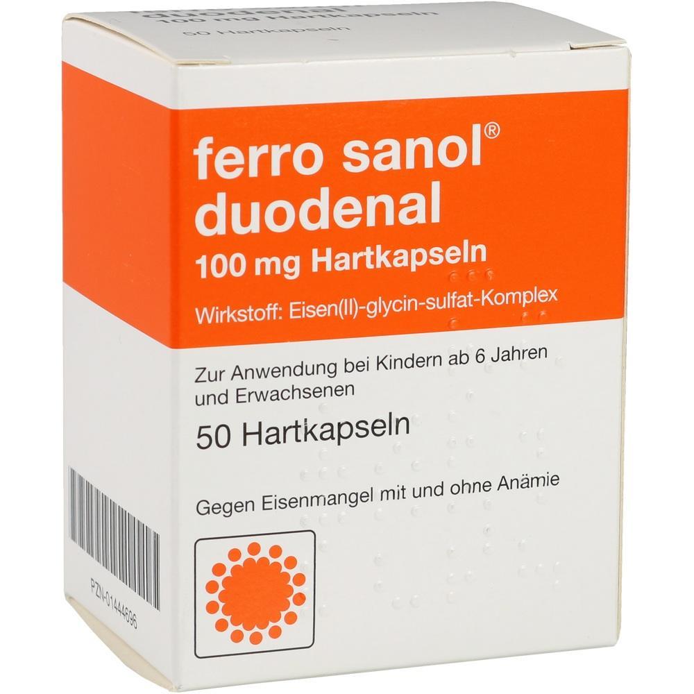 01444696, FERRO SANOL DUODENAL magens.res.Pellets in Kapseln, 50 ST