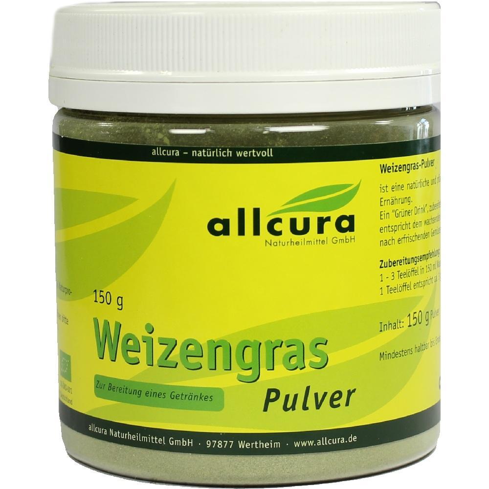 01452684, Weizengras Pulver Kontrol.Biologischer Anbau, 150 G