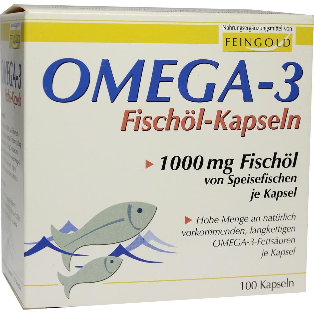 01469549, Omega 3 Fischöl Kapseln, 100 ST