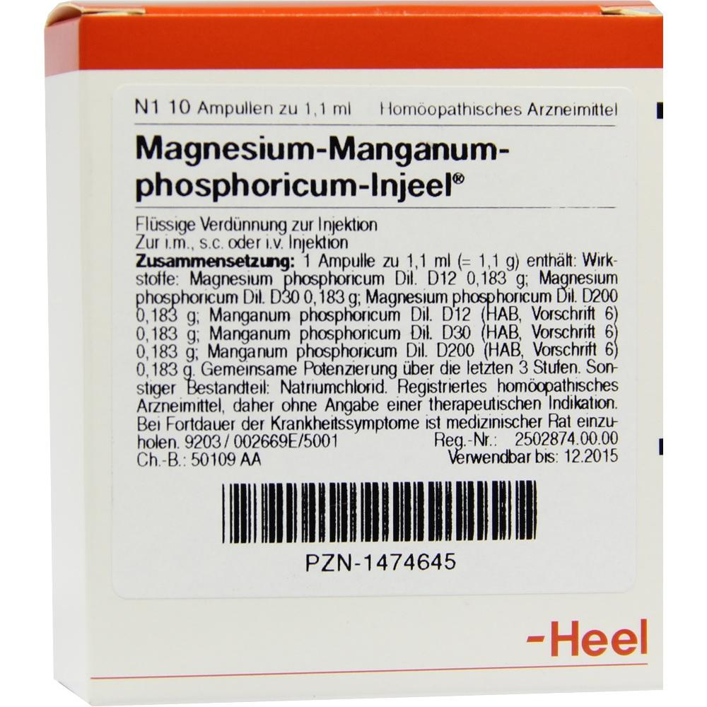 MAGNESIUM MANGANUM phosphoricum Injeel Ampullen
