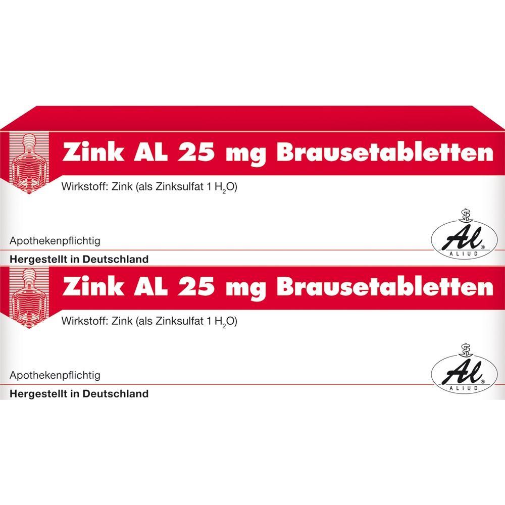 01489003, Zink AL 25mg Brausetabletten, 40 ST