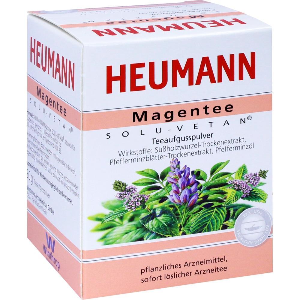 01518667, Heumann Magentee Solu Vetan, 30 G