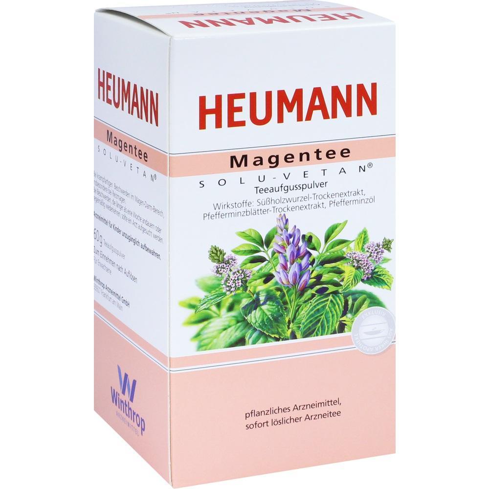 01518673, Heumann Magentee Solu Vetan, 60 G